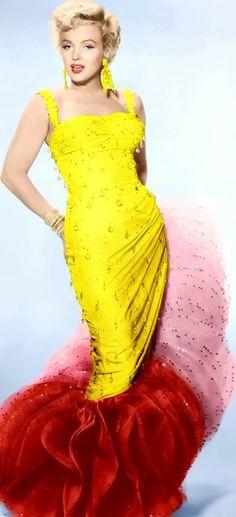 Marilyn Monroe in Color - www.more4design.pl – www.mymarilynmonroe.blog.pl – www.iwantmore.pl