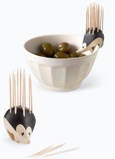 porco-espinho de palitos, via Bem Legaus!: Cozinha