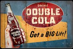 Click to find out more about Drink Double Cola Sign