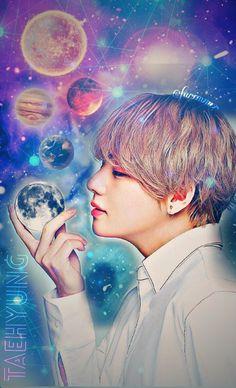 V / Kim Taehyung | BTS | Fan Art