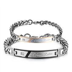 JewelryWe - 2 Pulseras de amor verdadero de acero inoxida... https://www.amazon.es/dp/B00PRXM24M/ref=cm_sw_r_pi_dp_KGkFxb89M9DN2