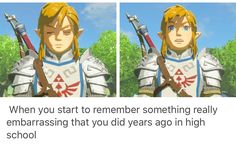 I'm loving all the Breath of the Wild memes rolling in ever since its release on Friday...
