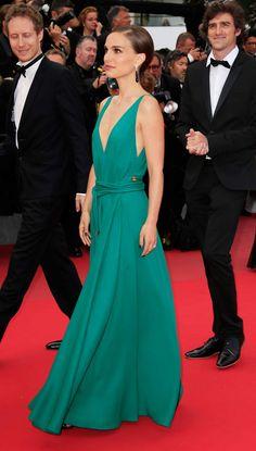 Natalie Portman sur le tapis rouge du Festival de Cannes
