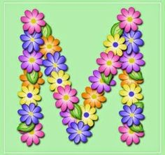 """""""Pastel Floral"""" Free Scrapbook Alphabet in JPG and PNG I will be printing these out and using Modge Podge to paste them to blocks fo. Flower Alphabet, Flower Letters, Monogram Letters, Pastel Floral, Minnie Png, Arts And Crafts, Diy Crafts, Decoupage Vintage, Alphabet And Numbers"""
