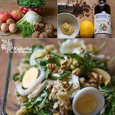 FENYKLOVÝ SALÁT Chicken, Meat, Recipes, Food, Essen, Meals, Ripped Recipes, Yemek, Eten