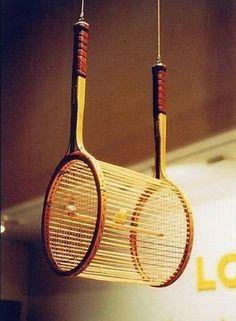 Recycler une vieille raquette de tennis! Voici 21 idées créatives…