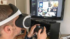 Playstation VR funktioniert nicht nur mit der PS4, sondern auch mit anderen HDMI-Datenquellen - sogar mit der Xbox One. Damit läuft zwar nur der sogenannte Kinomodus,