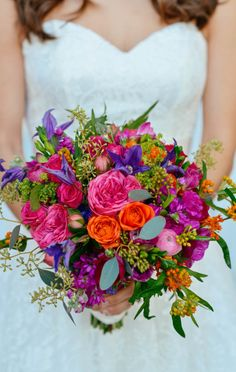 Great details and texture on this bouquet! #FearringtonWedding