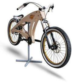 bike, bicicleta de madeira,  feito a mão