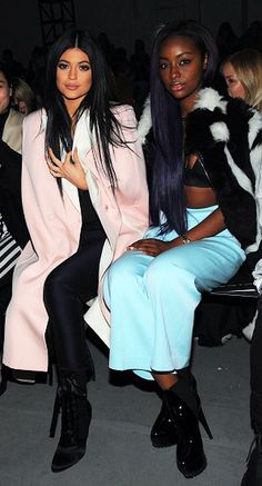 Kylie Jenner And Justine Skye