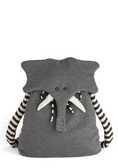 Elephant Backpack:
