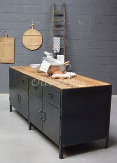 Dressoir Ferro 4-STEEL | Old BASICS