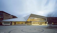 Норвегия, Vennesla Library, архитектурное бюро Helen & Hard