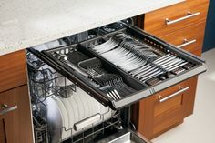 GE Appliances is adding special musical soundtracks to some of its new appliances. The first:  GE Monogram dishwasher model ZDT870SSF. Available February 2014 for $1,799. Read about it.
