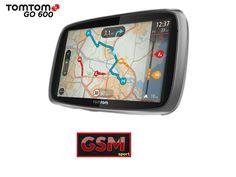 TOMTOM GO 600 Speak & Go - Navigatore GPS per auto