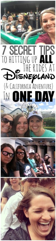 """This isn't your typical """"Disneyland Tips"""" post-- we are diving deeper and letting you in on the secrets to hitting up all the rides in both parks in ONE DAY"""