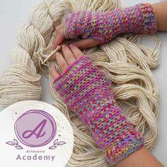 Fingerless gloves Fair - Isle Style