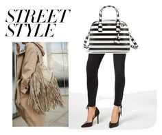 """""""Street Style"""" by lhstudio ❤ liked on Polyvore featuring Levi's, Kate Spade, contestentry and nyfwstreetstyle"""