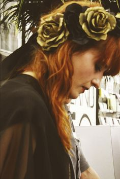 Florence Welch, perfect coppery red.
