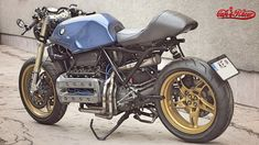 BMW K100 cafe racer project