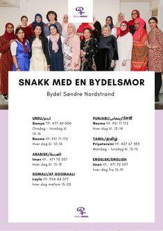 Bydelsmødrenes hjelpelinje på 24 språk