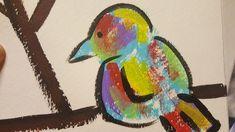 Sneak peek #2 Original Bird Painting. ©W.Rosson  #birds #painting #art #kickstarter #make100