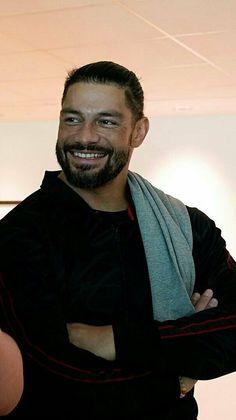 Roman Reigns Smile, Wwe Roman Reigns, Beautiful Joe, Gorgeous Men, Wrestling Posters, Roman Regins, Wwe Superstar Roman Reigns, Love Your Smile, Professional Wrestling