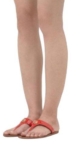 Tory Burch | Fire Orange Cameron Sandals Size US 6 Regular (M, B) #BestHairLossShampoo Causes Of Cellulite, Cellulite Cream, Reduce Cellulite, Anti Cellulite, Cellulite Exercises, Cellulite Remedies, Thigh Cellulite, Cellulite Workout, Tory Burch