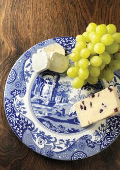 The Blue Italian Serving Plate is a wonderful addition to the table. #BlueItalian #Spode