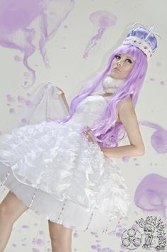 Fashion show Jellyfish dress from Princess Jellyfish. deviantART: More Like [bakuman] on the money :3 by *dj-bucky