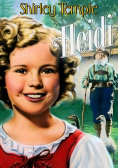 Heidi (1937) When 8-year-old Heidi (Shirley Temple) is orphaned, her mean Aunt Dete (Mady Christians) takes her to the mountains to live with her even meaner grandfather, Adolph (Jean Hersholt). Heidi's eternal charm soon warms her grandfather's heart, and the two become great friends. But when Aunt Dete returns and steals Heidi, Adolph sets out on a quest to find the girl and bring her home in this sweet classic from Hollywood's golden age.