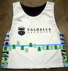 7ecdc14f4 Valhalla Lacrosse Pinnies - Dye Sublimated Lacrosse Pinnies - USA Made.  Lacrosse Uniforms. Design your ...