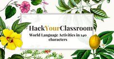Elizabeth Dentlinger's #iwla15 presentation, #HackYourClassroom.    Follow her on Twitter @SraDentlinger or read her blog sradentlinger.wordpress.com