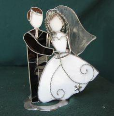 Bride and Groom figurine - large