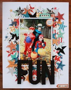 Fun {October Afternoon Layout}