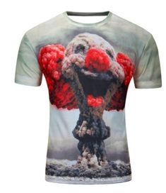 0bd8ff9a3 Water Drop Mobile 3D Print Short Sleeves Men t shirt Harajuku Summer Groot Men  tshirt Tops Plus Size shirt