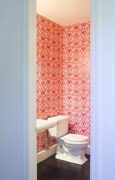 Pink wallpaper alert! Photography by Kara Shurtliff