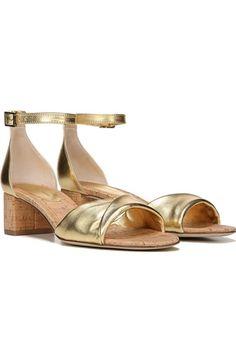 Metallic, minimalist, wear-with-everything sandals.