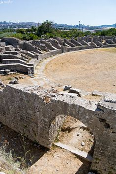 Ancient Salona - Croatia. The capital of the Roman Province of Dalmatia during the 1sr millennium BC. Salona is located 3 miles from Split.  #croatia #hrvatska