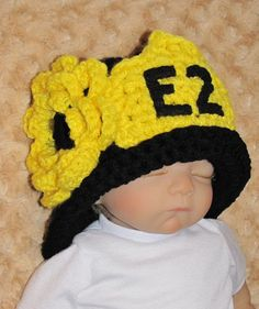 Newborn Photo Prop  FIREMAN  Hat and Diaper Cover  by pixieharmony, $38.95