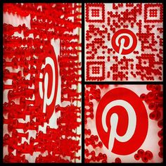 #qrcode #pinterest #guerilla #ambient #marketing #advertising #pushpin