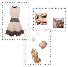 """""""DRESS"""" by kriziao ❤ liked on Polyvore featuring Alexander McQueen, Red Circle and Calvin Klein"""