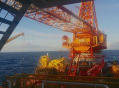 Wei-Li Heavy Lift Crane vessel operating near Aasen Project in the North Sea