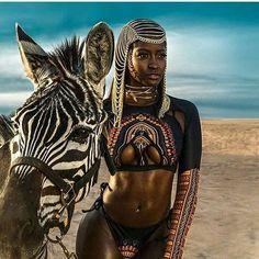 "618 Likes, 12 Comments - Taji Mag (@tajimagazine) on Instagram: ""All of the Universe's beauty. * @inkmyafrica wearing @bfyneswim* #tajimag #blackbeauty…"""