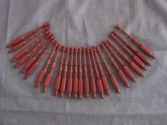 "24 x4 1 2"" Long Fancy Square Bobbin Lace BOBBINS Made of Nice Purple Heart Wood | eBay"