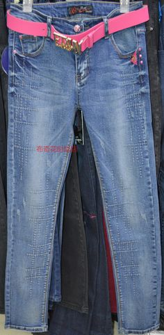 2015春季新款正品超群6010牛仔裤时尚欧洲站修身显瘦小脚裤女长裤-淘宝网