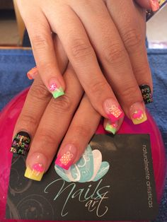 Nails art, acrylic nails, nails