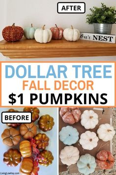 Dollar Tree Pumpkins Are The Best Fall Decor Craft (DIY Tutorial Inside)