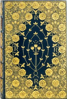 For the love of Books...'Poems' by Dante Gabriel Rossetti, London, F. S. Ellis, 1870, Binding by Cobden-Sanderson.
