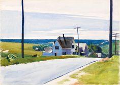Edward Hopper - HIGH ROAD, 1931